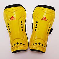 Щитки футбольные Adidas II детские (желтые)