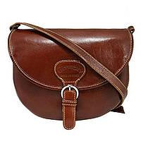 Женская кожаная итальянская сумка TWR-27-1 Brown