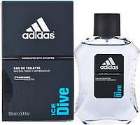 Adidas  Ice Dive Туалетная вода мужская, 100 мл