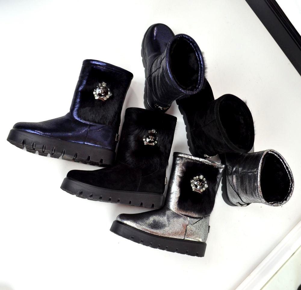 2603ad306ac2 Женские угги Chanel с лазерным напылением Турция - ГЛЯНЕЦ   Интернет-магазин  КОЖАНОЙ обуви с