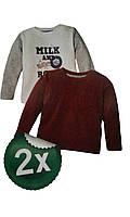 Реглан для мальчика, ( 2 шт в упаковке), размеры 74/80,74/80 Lupilu, арт. Л-757