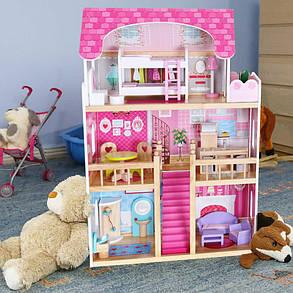 Игровой кукольный домик для барби 4119 Tima Toys + 2 куклы, фото 2