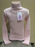 Гольф школьный для девочки, розовый