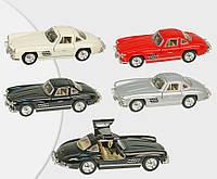 """Машина металлическая """"mercedes-benz 300sl 1954"""" """"kinsmart"""" kt5346w"""