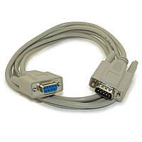 Нуль-модемный кабель RS232 DB9 COM папа-мама 1.4м