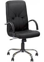 Кресло Manager steel chrome (comfort) ECO