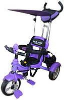Велосипед трехколесный Mars Trike надувные (фиолетовый)