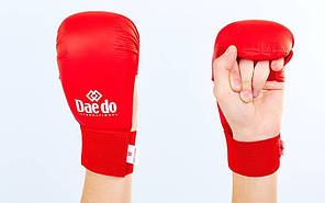 Рукавички для карате DAEDO BO-5076-R, фото 2