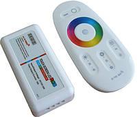 Контроллер для светодиодной ленты RGB 12В 6А с пультом управления (радио 2.4GHz), фото 1