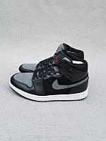 Кроссовки Nike Air Jordan 1 Black/Gray