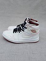 Кроссовки Nike Air Jordan 1 White