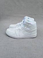 Кроссовки Nike Air Jordan 1 All White