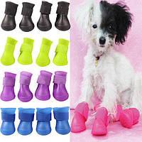 Резиновые сапоги для собак Dobaz размер 5 (4шт)