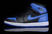 Кроссовки Nike Air Jordan 1 Black/Blue