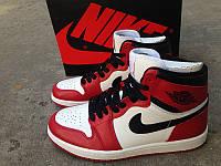 Кроссовки Nike Air Jordan 1 White/Red