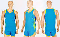 Форма для легкой атлетики мужская X-511M-BL(2XL) (полиэстер, р-р 2XL-170-175см(65-75кг), синий)