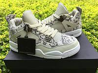 Кроссовки Nike Air Jordan 4 Premium Snakeskin реплика