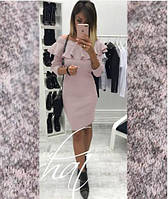 "Платье из ангоры с воланом ""Rihanna"""