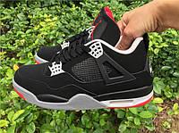 Кроссовки Nike Air Jordan 4 Retro Bred 2012 Release
