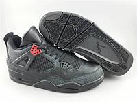 Кроссовки Nike Air Jordan 4 Black/Infrared