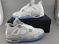 Кроссовки Nike Air Jordan 4 30th Anniversary Laser реплика