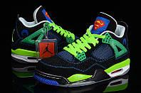 Кроссовки Nike Air Jordan 4 Superman реплика, фото 1