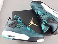 Кроссовки Nike Air Jordan 4 Retro 30th BG Teal реплика