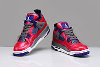 Кроссовки Nike Air Jordan 4 Purple Valentine реплика, фото 1