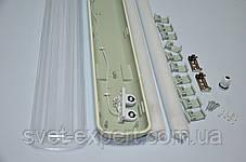 Світильник ЛПП промисловий / вологозахищений з LED-лампами 36W IP65 2*1200мм 4000/6400K, фото 3