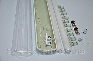 Светильник промышленный / пылевлагозащищенный ЛПП с LED лампами 36W IP65 2*1200мм 4000K , фото 2