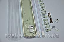 Світильник ЛПП промисловий / вологозахищений з LED-лампами 36W IP65 2*1200мм 4000/6400K, фото 2
