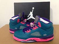 Кроссовки Nike Air Jordan 5 South Coast реплика, фото 1