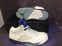 Кроссовки Nike Air Jordan 5 Retro Grape 2013 Release реплика, фото 1