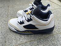"Кроссовки Nike Air Jordan 5 Retro Low GS ""Dunk From Above"" реплика, фото 1"