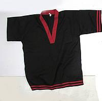 Кимоно добок черное с красным, М, Отл сост!