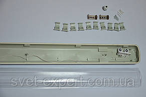 Светильник промышленный / пылевлагозащищенный ЛПП 2*600мм IP65 , фото 2