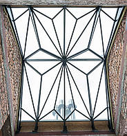 Стеклянные крыши. Изготовление и монтаж конструкций из стекла и стали