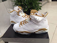 Кроссовки Nike Air Jordan 6 Retro Golden Moments Package реплика, фото 1