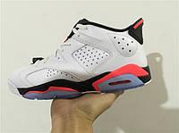 Кроссовки Nike Air Jordan 6 Retro Low Infrared реплика, фото 1