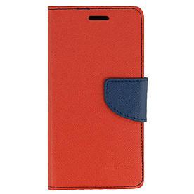 Чехол книжка для Samsung Galaxy J3 Prime J327 боковой с отсеком для визиток, Mercury GOOSPERY Красный
