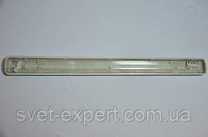 Светильник промышленный / пылевлагозащищенный ЛПП с LED лампами  18W IP65 2*600мм 6400K , фото 2