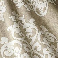 Портьерная ткань для штор (вензель) 400168v1