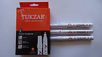 Маркер-краска лак Белый Tukzar,2мм на маслянной основе.Маркер Белый лаковый на масляной основе  для декора и т