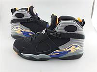 Кроссовки Nike Air Jordan 8 Retro GS Phoenix Suns реплика, фото 1
