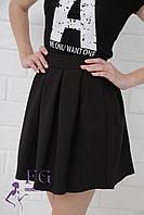 Юбка женская «Беверли» - распродажа модели черный, 46