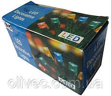 Гирлянда новогодняя 100 ламп синяя