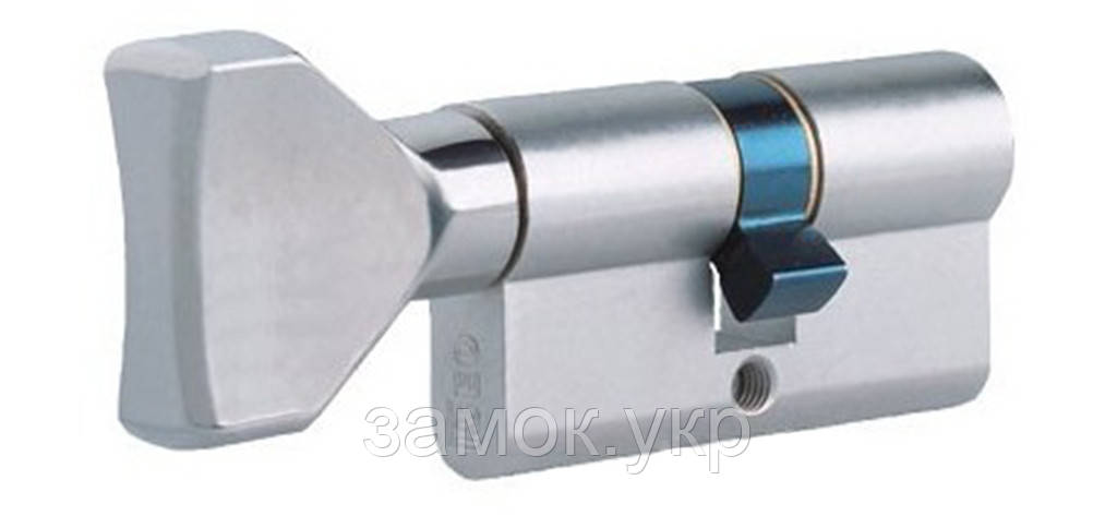 Iseo F5 60мм 30х30 ключ/тумблер никель (Италия)