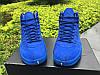 Кроссовки Nike Air Jordan 12 Retro PSNY Blue реплика