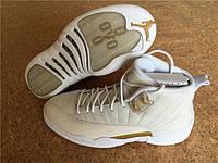 Кроссовки Nike Air Jordan 12 Retro OVO Wite реплика, фото 1