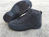 Кроссовки Nike Air Jordan 12 Retro PSNY Grey реплика, фото 1
